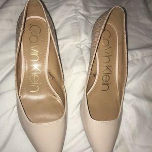 Size 7 Calvin Klein heels